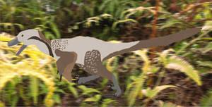 Velociraptor mongoliensis by RaptorWings