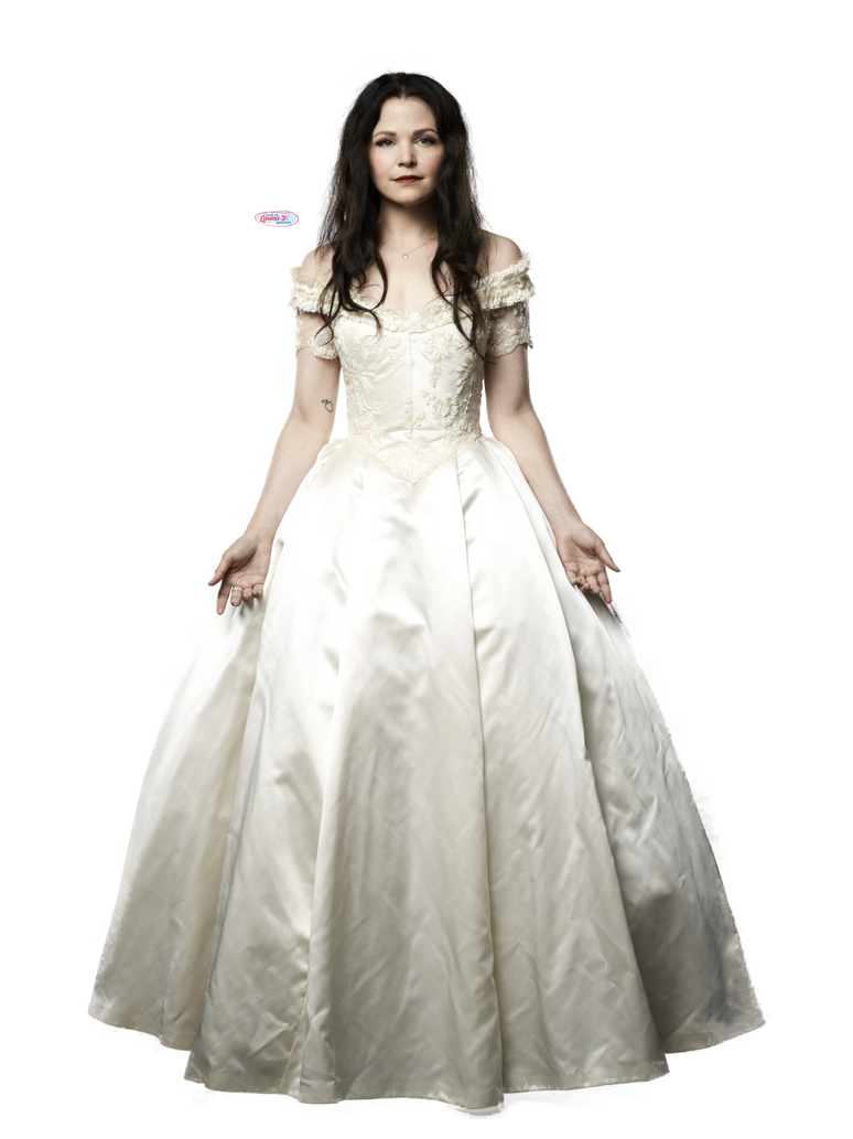 Png snow white once upon a time by luanaf on deviantart for Snow white wedding dress once upon a time