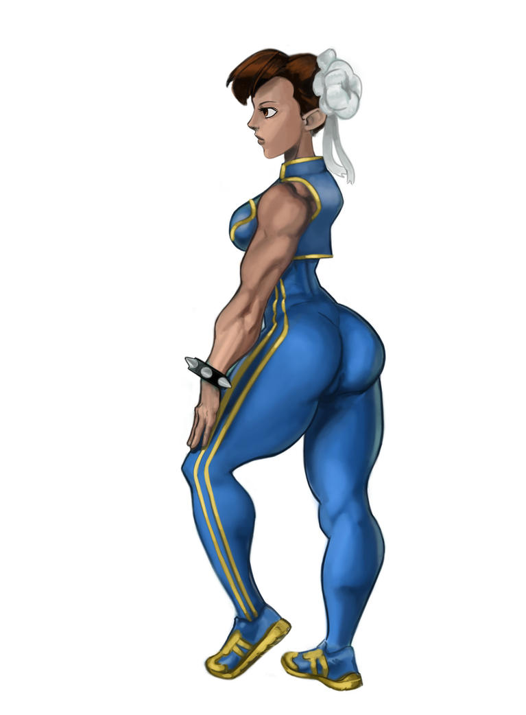Chun Li Warm UP by PhirstDrapht15