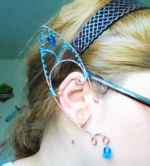 Water elf ear wraps by Deamonblade12