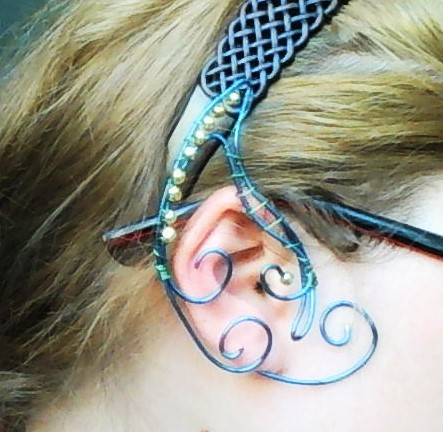Royal elf ear wrap by Deamonblade12