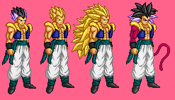 Gotenks Sprite by 9TS