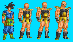 Nappa Sprites by 9TS