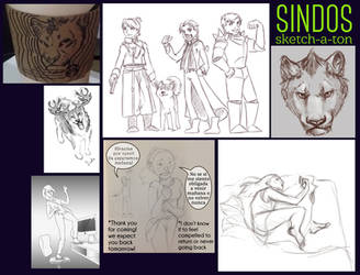 Sketch-a-ton by sindos