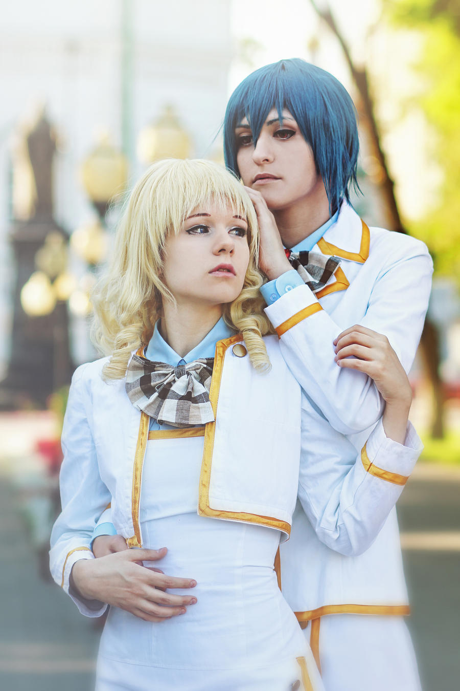 Strawberry Panic: Amane x Hikari by anna-wind-cosplay on ...