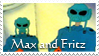 stamp Max and Fritz