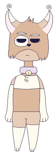 Redesign Of My Fursona by BenesovaBa
