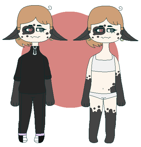 Another redesign of my persona by BenesovaBa
