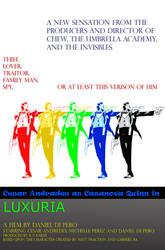 Fake film poster for Casanova.