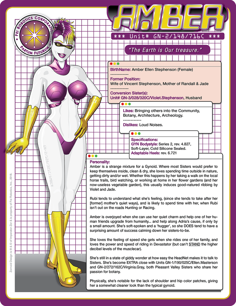 AMBER (v002) - Tech Specs by laughingvulcan