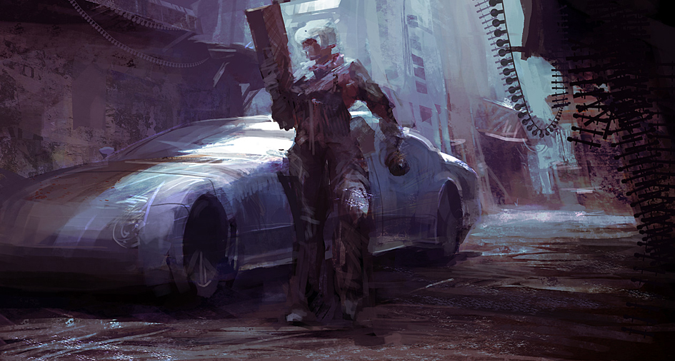 Alley cop by leventep