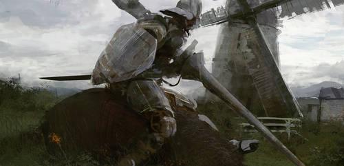 Don Quixote by leventep