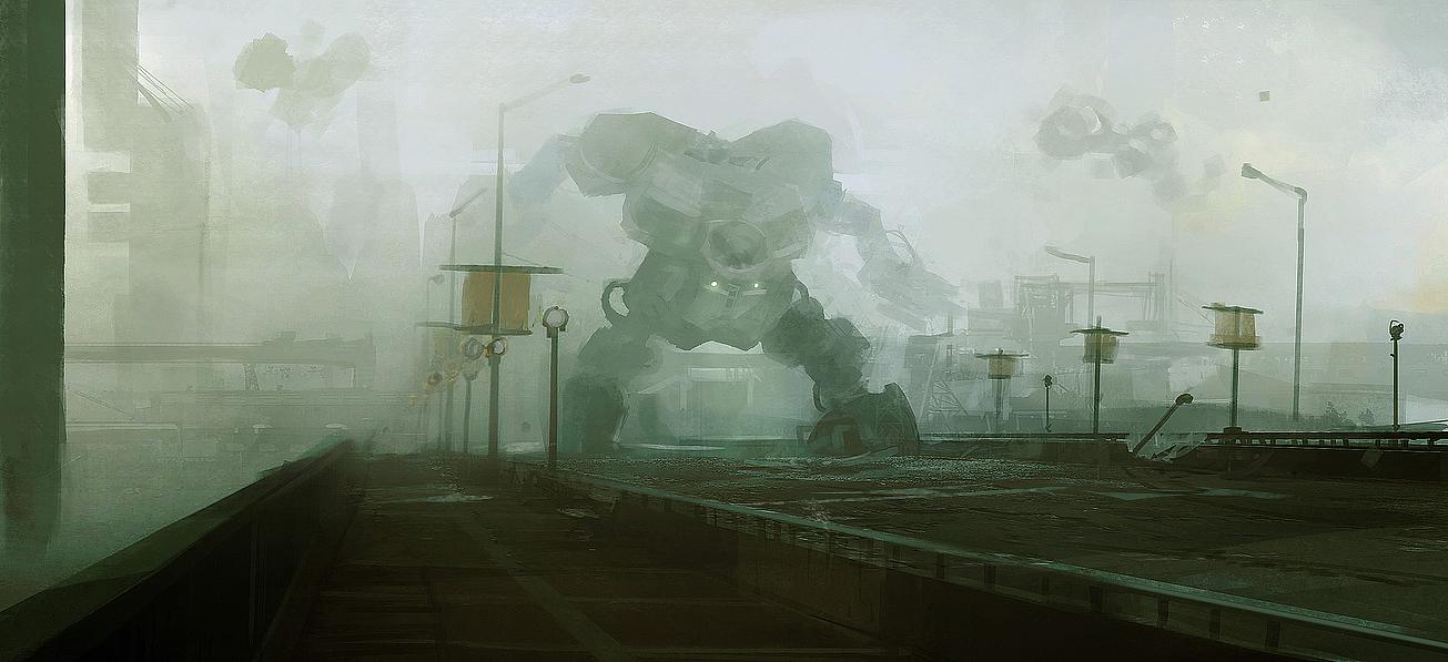 Fog mecha by leventep