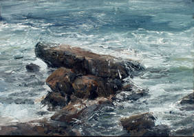 Laguna beach rock