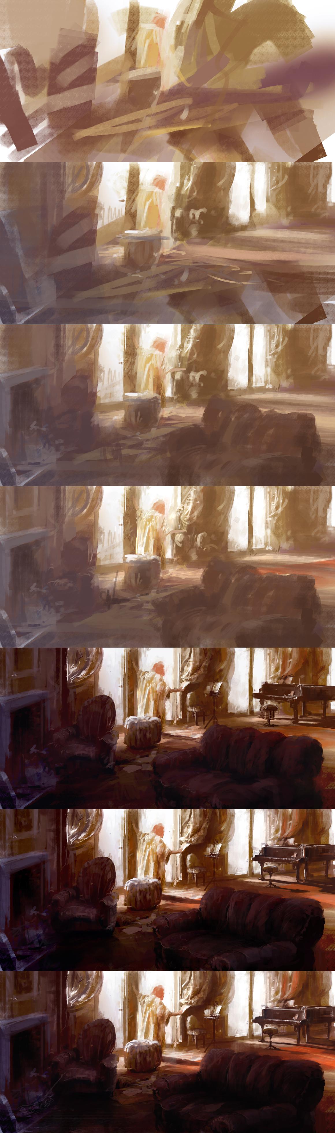paint breakdown by leventep