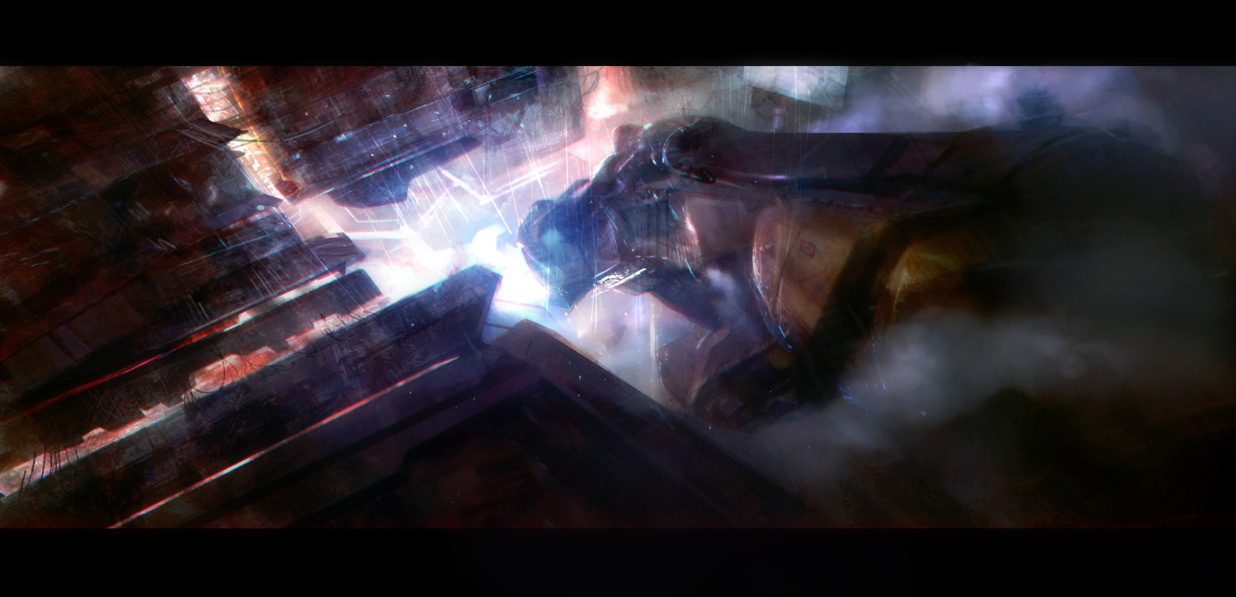 Deckard arriving by leventep