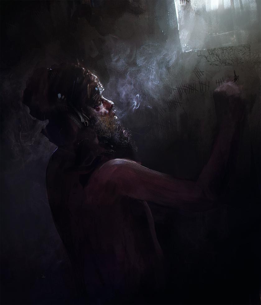 live sketch - Prisoner by leventep