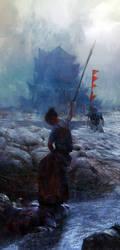 Samurai hunter by leventep