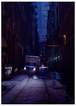 NY alley