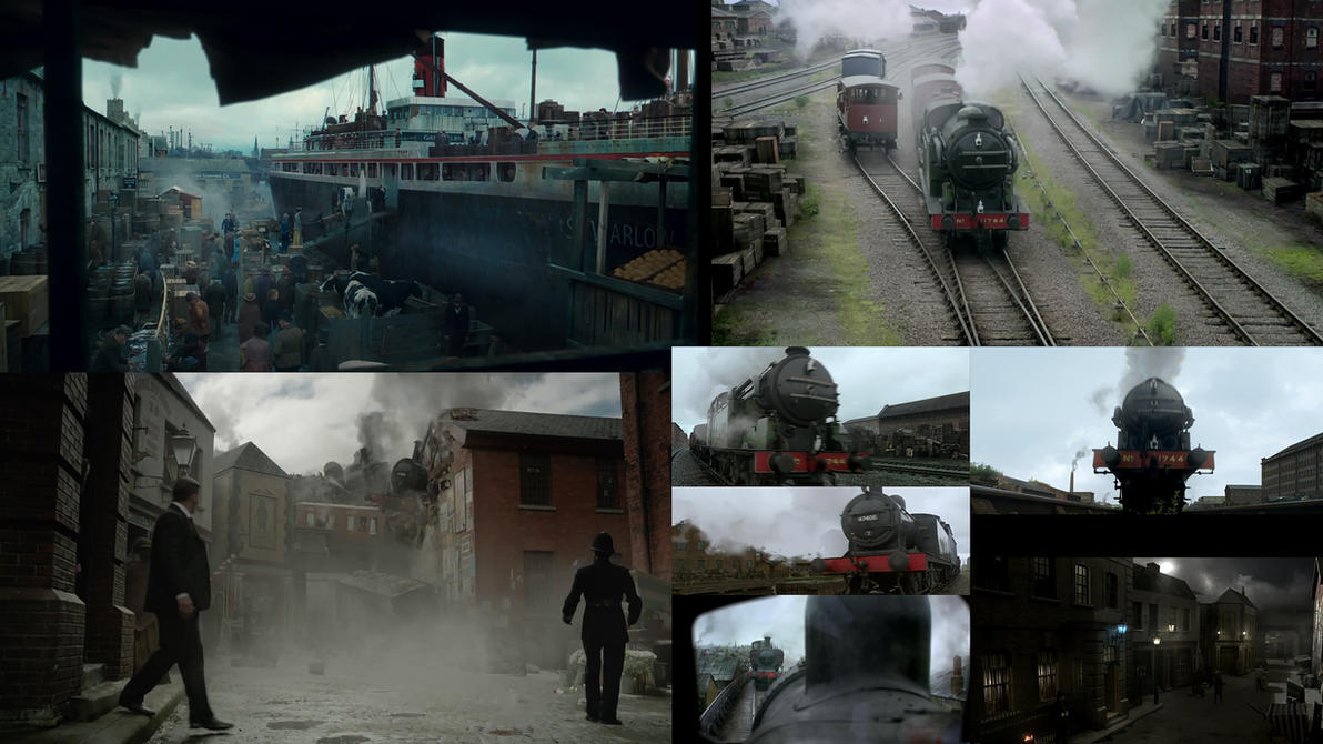 Ripper Street Season 3 DMP work by leventep