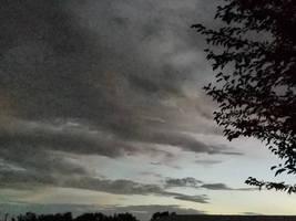 Setting storm