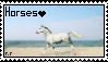 Horses Stamp by RowansRuins