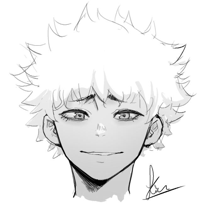 Sketchy boy ^^ by Kiritzugu