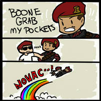 Boone grab my pockets by Mikkynga