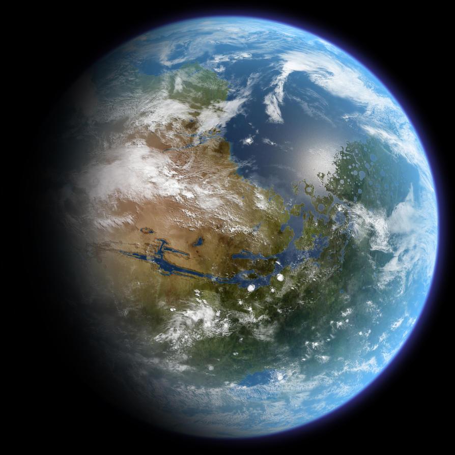Terraformed Mars by Ittiz