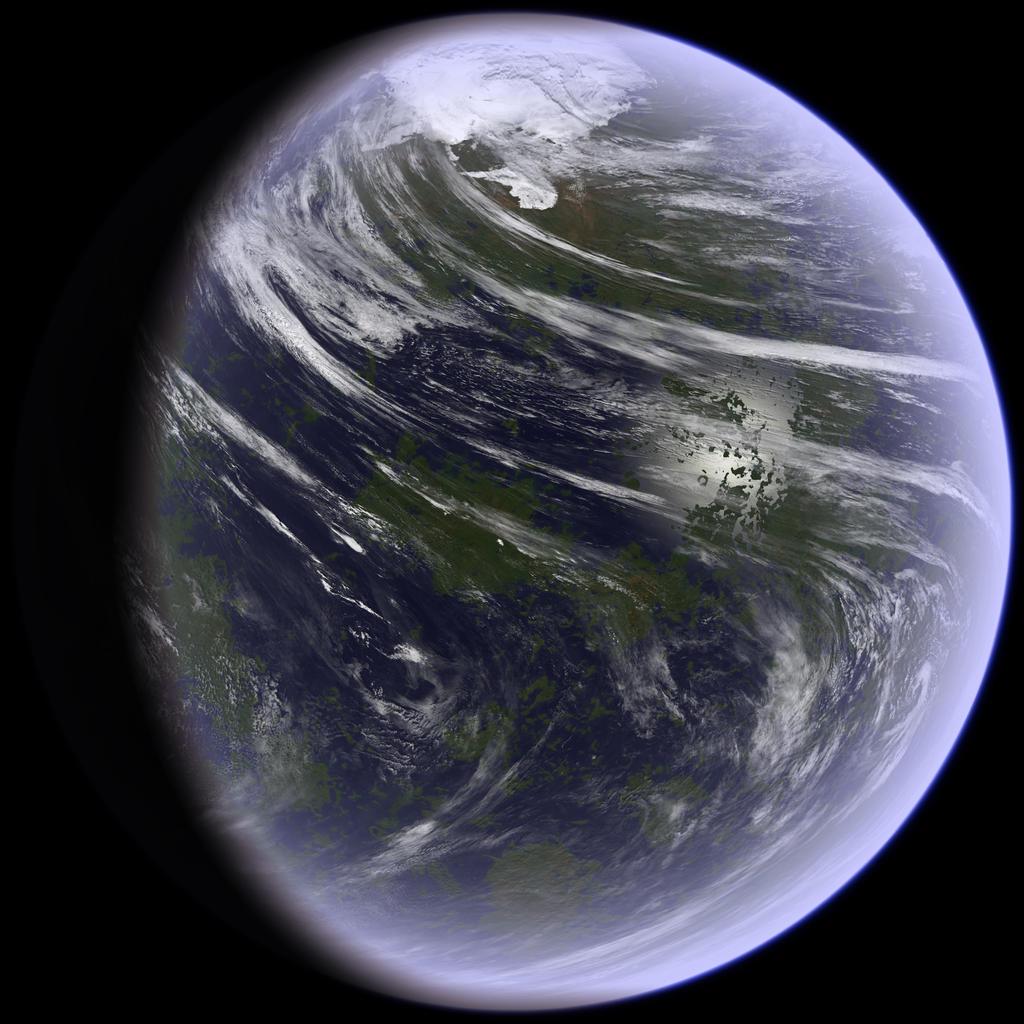 Terraformed Venus by Ittiz