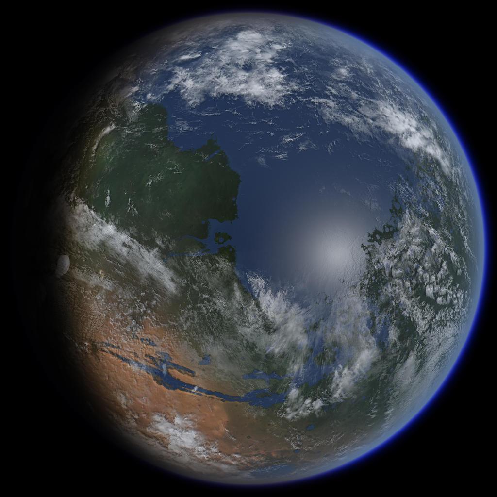 Mars Terraforming: Mars Terraformed By Ittiz On DeviantArt