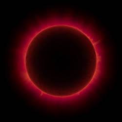 Terraformed Moon Solar Eclipse by Ittiz