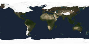 Ice Age Earth Map by Ittiz