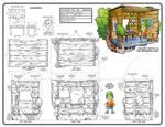 Bart Simpson Treehouse Playset