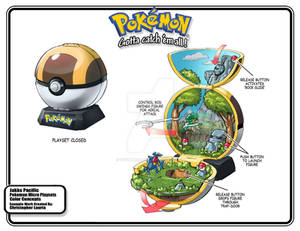Pokemon Forest Toy Playset