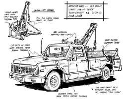 13th Child: Piney Truck Design