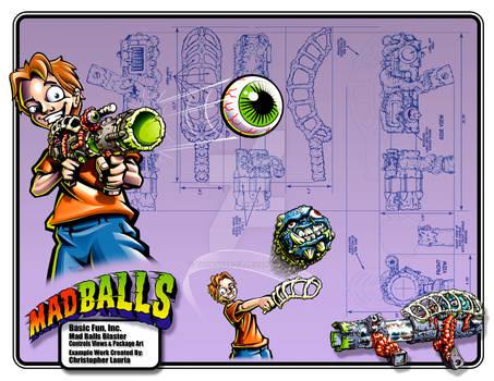 Madballs Blaster : Toy Design
