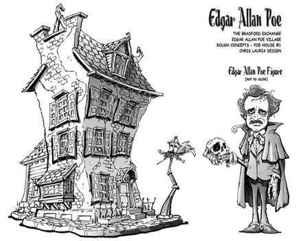 Edgar Allan Poe Village : Poe House Design