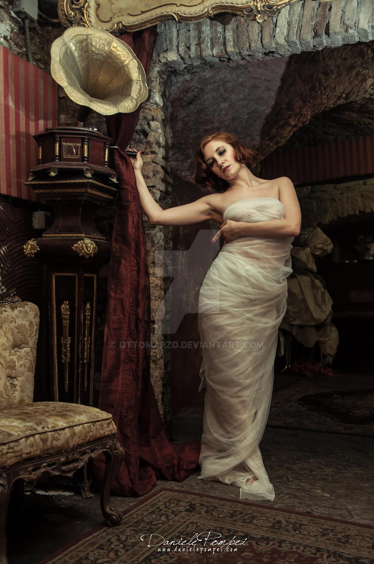 Silk Desire: Wrapped in White by OttoMarzo