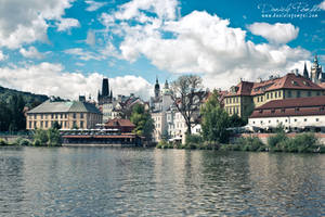 Prague from Vitava