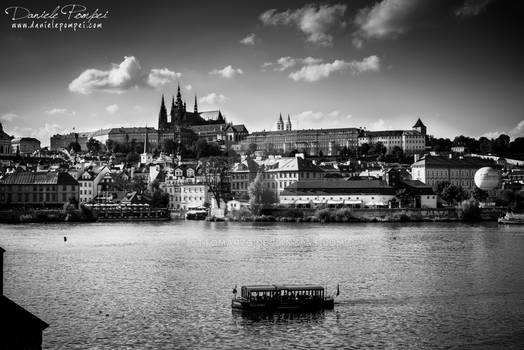 Prague from Charles Bridge