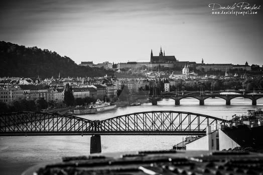 Prague from Vysehrad