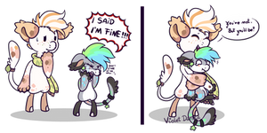 You'll be fine by VioletDanka-n-Silly