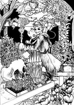 Jhonen in the Garden