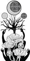 Poppy and Tree