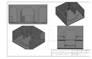 Saint Daimen' s New Design -3-D work