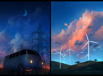 series : Summer Evening by sheer-madness