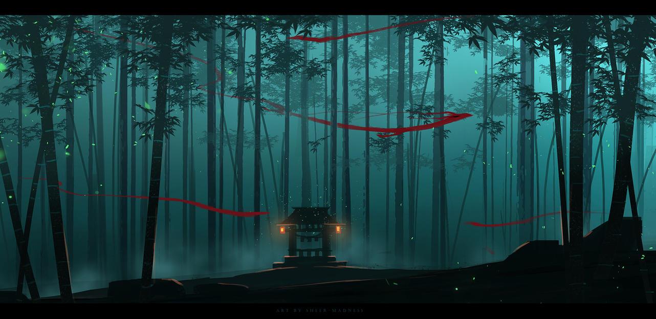 bamboo forest spiritssheer-madness on deviantart