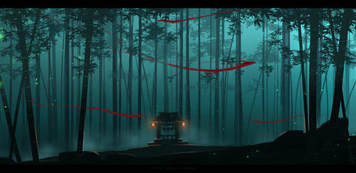 bamboo forest spirits