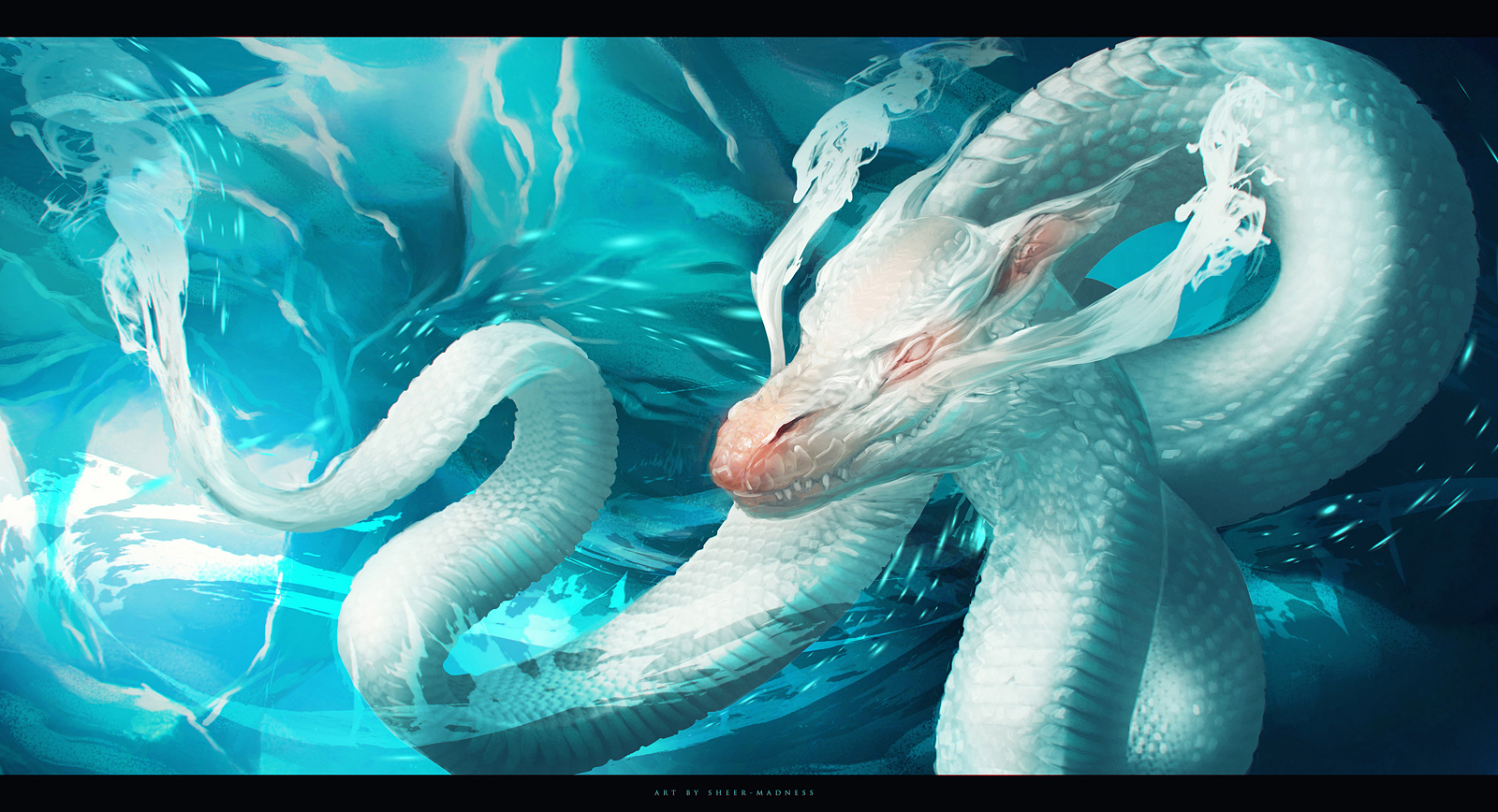 water dragon by sheer-madness on DeviantArt